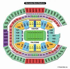 Seating Chart Mercedes Benz Atlanta United Mercedes Benz Stadium Atlanta Ga Seating Chart View