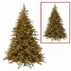7 5 Foot Dual Light Christmas Tree National Tree Company 6 Ft Frasier Grande Artificial