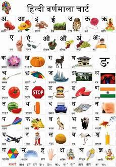 Hindi Matra Words With Pictures Chart Hindi Varnamala Chart 2 Search Oshiprint In Hindi