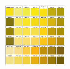 Shades Of Gold Color Chart 15 Word Pantone Color Chart Templates Free Download