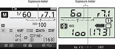 Nikon D80 Light Meter How To Read The Exposure Meter On The Nikon D7200 Dummies