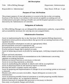 Medical Administration Job Description Free 7 Medical Administrative Assistant Job Description