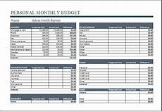 Monthly Expenditure Worksheet 20 Editable Worksheet Templates For Everyone S Use