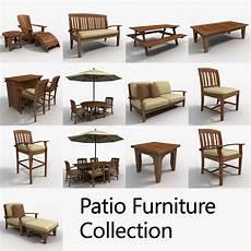 Patio Sofa Set 3d Image by Obj Patio Furniture Set