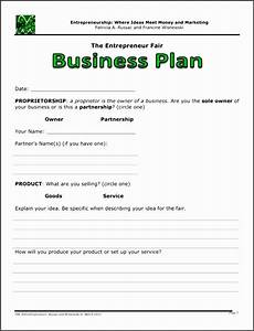 Blank Business Plan Template 7 Simple Business Plan Template Sampletemplatess