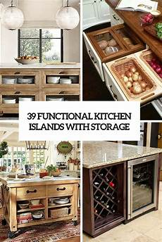 kitchen island with storage 39 kitchen island ideas with storage digsdigs
