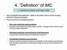 Integrated Marketing Communications Definition Ppt Integrated Marketing Communications Imc Powerpoint