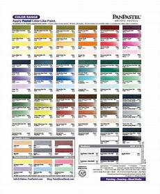 Pan Pastel Color Chart 10 Color Chart Templates Samples Examples Free