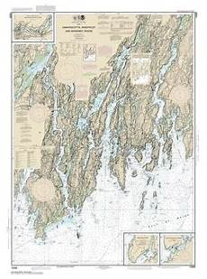 Butler Freeport Trail Mileage Chart Themapstore Noaa Chart 13293 Noaa Damariscotta River