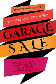 Garage Sale Poster Ideas Copy Of Garage Sale Flyer Template Postermywall