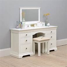 white gorgeous oak pine painted solid wood dressing tables
