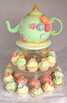 kitchen tea cake ideas bridal shower tea pot cake and cupcakes kitchen tea d