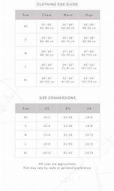 lululemon size chart lululemon size chart for your