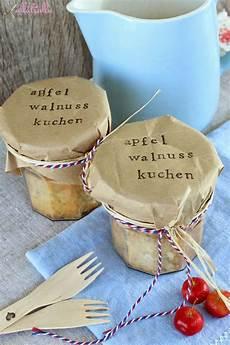 geschenk aus der k 252 che kuchen im glas walnusskuchen und