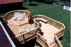 Two Level Deck Designs Multilevel Deck Design Ideas By Archadeck St Louis