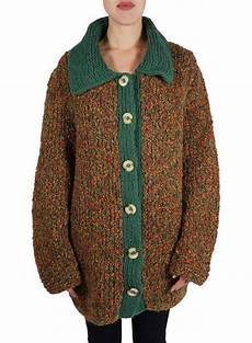 vintage knitwear heavy knitted cardigans sweaters