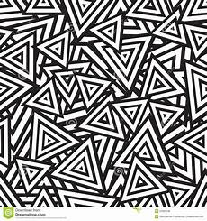 Abstract Art Black And White Patterns Abstract Black And White Seamless Pattern Vector Royalty
