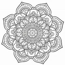 Malvorlagen Blumen Mandala Pin By Schmidt On Coloring Pages With Images