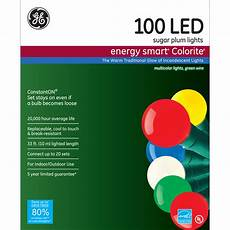 Ge Energy Smart Led Net Lights Ge Energy Smart 174 100ct Led Colorite 174 Sugar Plum Christmas