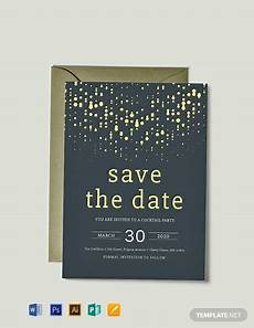 Save Word Template Free Save The Date Party Invitation Template Word Psd
