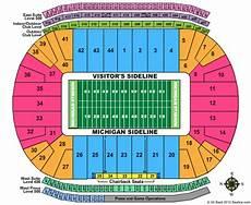 Arbor Stadium Seating Chart Michigan Stadium Seating Chart Michigan Stadium