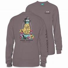 simply southern preppy collection light sleeve t
