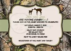 Country Designs By Martin Country Theme Buck And For Camo Baby Shower Invitation