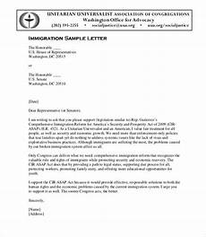 Immigration Letter Of Recommendation For Family Sample Immigration Letter Of Support For A Family Member