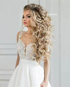 beautiful wedding hairstyles down for brides and bridesmaids