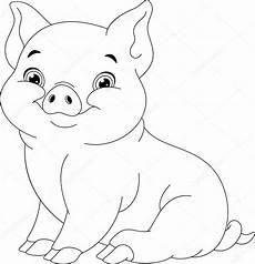 Schwein Malvorlagen Bilder Ausmalbilder Schwein Stockvektor 169 Malyaka 129524520