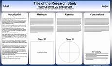 Tri Fold Poster Templates Free Powerpoint Scientific Research Poster Templates For