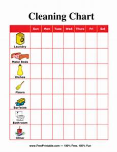 Blank Chore Chart For Adults Cleaning Chore Chart For Adults
