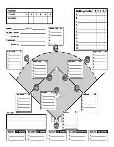 Baseball Position Template Baseball Line Up Custom Designed For 11 Players Useful
