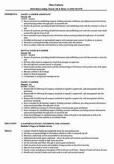 Resume For A Cashier Example 14 15 Cashier Experience Resume Examples