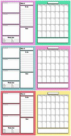 Calender Pages To Print Free Printable Blog Planner And Calendar Infarrantly