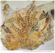 minoan fresco with cat hagia triada crete 1500 bc museum
