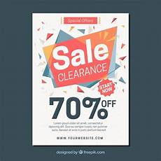 Sale Poster Ideas Sales Brochure Template