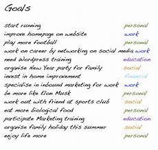 Long Term Goals Examples Long Term Career Goals Examples Long Term Career Goals