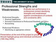 Professional Strengths Ppt X1