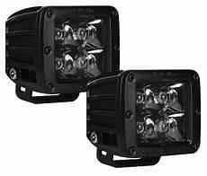 Rigid Led Lights Rigid Industries Dually Led Light Pair Midnight Edition