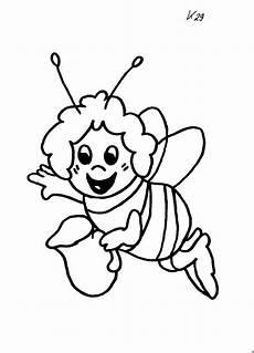 Gratis Malvorlagen Biene Maja Ausmalbild Malvorlage Sonstiges