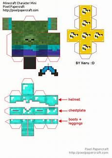 papercraft mini bob lucky blocks mod paper crafts