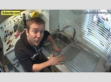 HOW TO REMOVE / INSTALL KITCHEN SINK   Plumbing Tips   YouTube