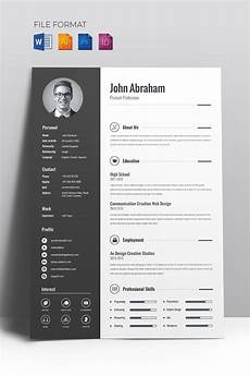 Creative Resume Ideas Minimal Creative Cv Resume Template 67714