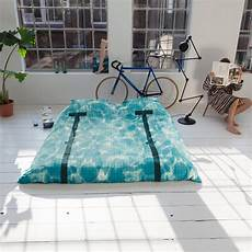 realistic swimming pool themed bedding