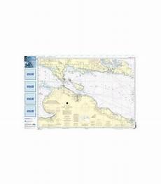 Great Straits Chart Oceangrafix Noaa Nautical Charts 14880 Straits Of Mackinac