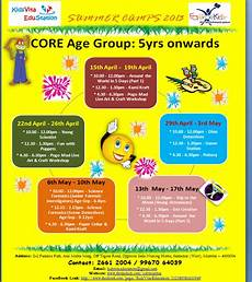 Summer Camp Pamplets Summer Camp Brochures 2013 Kidsvista Education
