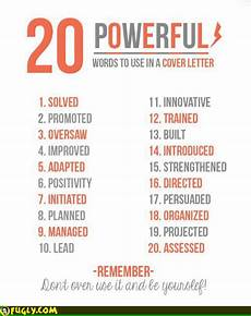 Another Word For Cover Letter 20 Powerful Words To Use In A Resume