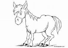 Malvorlage Esel Einfach Esel Zum Ausmalen