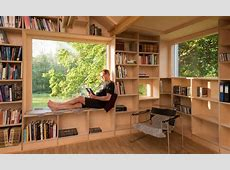 Old garage is transformed into a daylit, treehouse like library   Inhabitat   Green Design